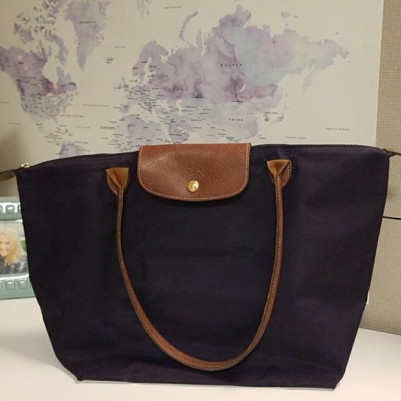 124466e3438 Longchamp Handbags - Longchamp Large Le Pliage Tote